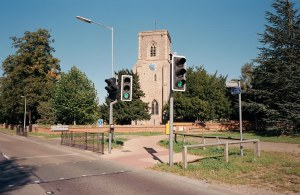 Many rural pelican crossings look as cluttered as urban crossings