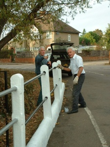 Local people getting involved with some useful maintenance
